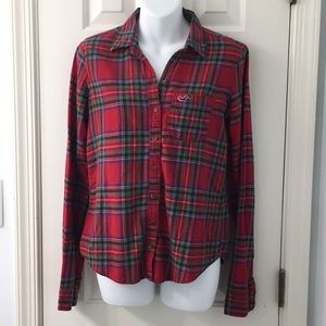 Red flannel in great condition!